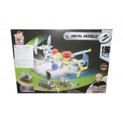 Конструктор металлический самолет