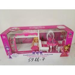 Набор мебели с куклой