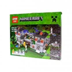Minecraf из аналога конструктора Лего