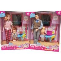 """Игровой набор """"Барби учительница с учеником"""" и """"Кен учитель с ученицей"""""""