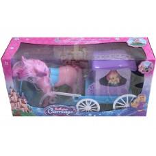Детская игрушка «карета с лошадкой»