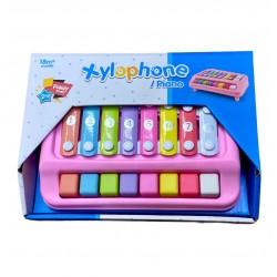 Детское пианино и ксилофон 2 в 1
