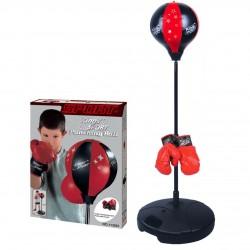 Детский набор для бокса напольный King sport.