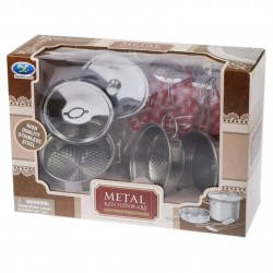 Детская металлическая посудка
