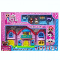 Домик для кукол LOL.