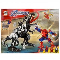 Конструктор супергеройский человек паук.