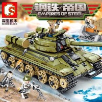 "Конструктор ""Sembo Block"" Советский танк T-34."