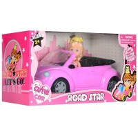 Машинка с куклой.